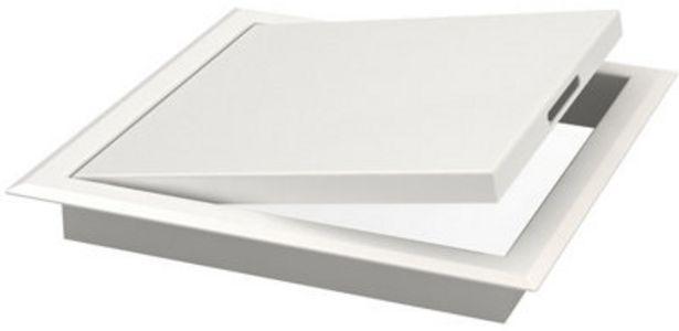 Oferta de Puerta para registro eléctrico de acero galvanizado lacado 20x20 cm por 9,95€
