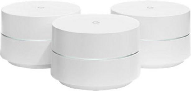 Oferta de Repetidor GOOGLE WiFi 3 por 325€