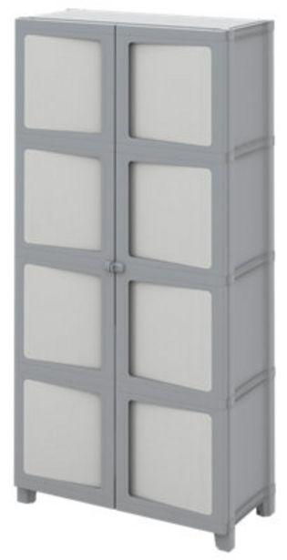 Oferta de Armario ropero XL Alto Modulize Xl de 89x180x40 cm para uso interior por 84,99€
