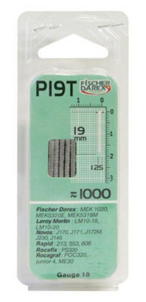 Oferta de Punta con cabeza FISCHER DAREX. paquete de 1000 unidades por 3,49€