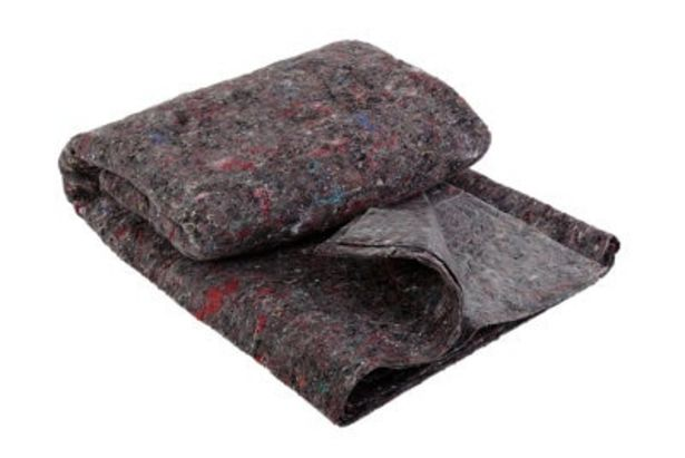 Oferta de Fieltro absorbente suelos 1x4 m negro por 5,75€