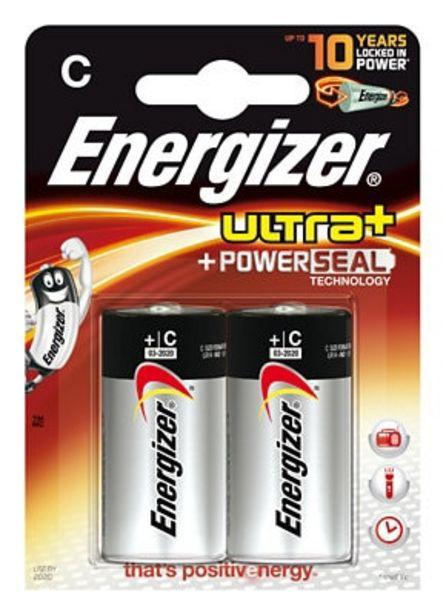 Oferta de Pack de 2 pilas ENERGIZER Max PowerSeal LR14 C 1,5V por 5,65€