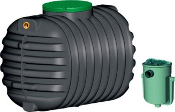 Oferta de Fosa séptica con filtro biológico de 1600L por 799€
