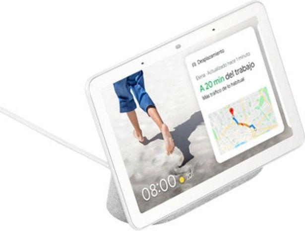 Oferta de Altavoz inteligente con pantalla GOOGLE Nest HUB gris por 79,99€
