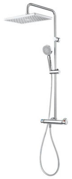 Oferta de Conjunto de ducha termostático ROCA Mitos por 379€