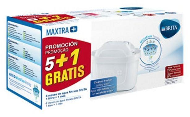 Oferta de Filtro de jarra BRITA 6 unidades por 26,99€
