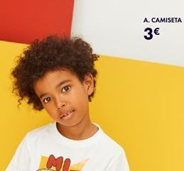 Oferta de A. camiseta por 3€