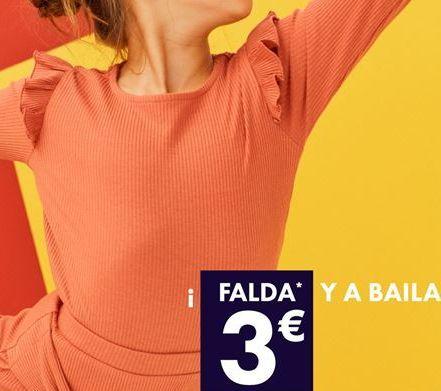 Oferta de Falda por 3€