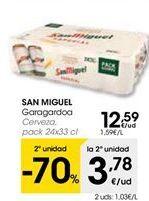 Oferta de Cerveza San Miguel por 12,59€
