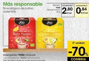 Oferta de Té buen humor  Yogi Tea por 2,8€