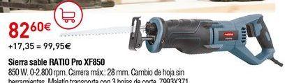 Oferta de Sierra Ratio por 82,6€