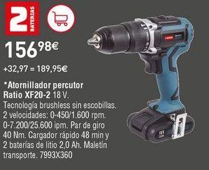 Oferta de Taladro atornillador Ratio por 156,98€