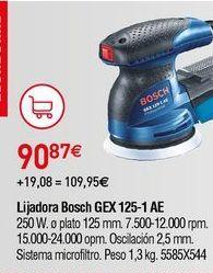 Oferta de Lijadora Bosch por 90,87€
