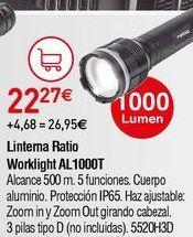 Oferta de Linterna led por 22,27€
