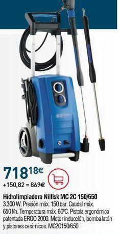 Oferta de Hidrolimpiadora Nilfisk por 718,18€
