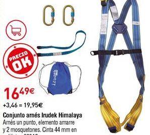 Oferta de Arnés de seguridad por 16,49€