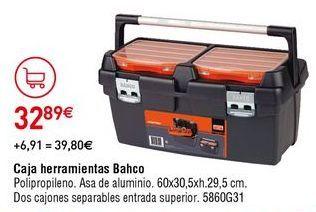 Oferta de Caja de herramientas por 32,89€