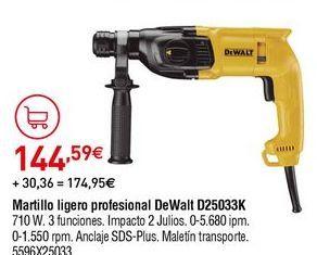 Oferta de Martillo Dewalt por 144,59€