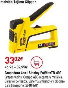 Oferta de Grapadora Stanley por 33,02€