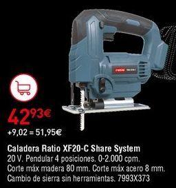 Oferta de Caladora Ratio por 42,93€