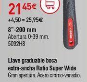 Oferta de Llave ajustable por 21,45€