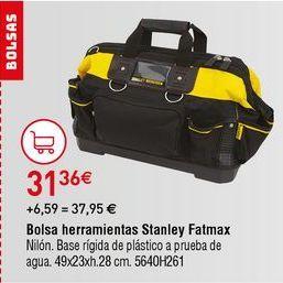 Oferta de Bolsa portaherramientas Stanley por 31,36€