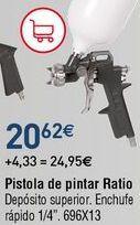 Oferta de Pistola de pintura por 20,62€