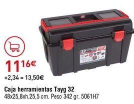 Oferta de Caja de herramientas tayg por 11,16€