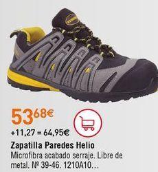 Oferta de Zapatos de seguridad por 53,68€