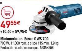 Oferta de Mini amoladora Bosch por 49,55€