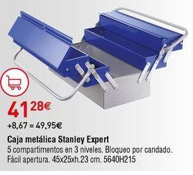 Oferta de Caja de herramientas Stanley por 41,28€