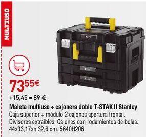 Oferta de Maletín de herramientas Stanley por 73,55€