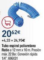 Oferta de Manguera espiral por 20,62€
