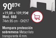 Oferta de Mampara de oficina por 90,87€