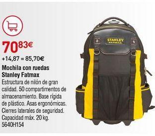 Oferta de Mochila portaherramientas Stanley por 70,83€