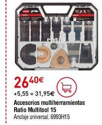 Oferta de Multiherramienta por 26,4€