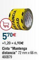 Oferta de Cinta adhesiva por 5,7€