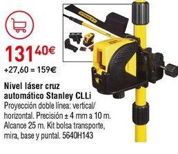 Oferta de Nivel láser Stanley por 131,4€