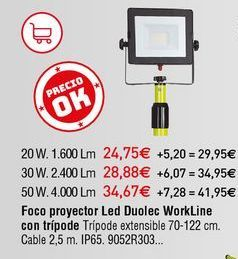 Oferta de Proyectores por 24,75€