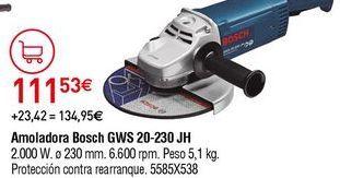 Oferta de Amoladora Bosch por 111,53€