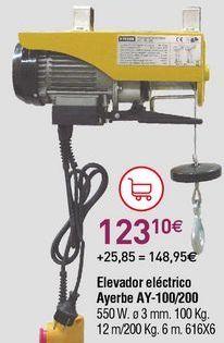 Oferta de Elevador eléctrico por 123,1€