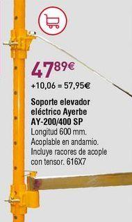 Oferta de Materiales de construcción por 47,89€