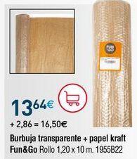 Oferta de Rollo de burbujas por 13,64€