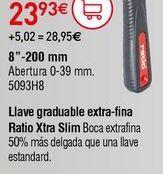 Oferta de Llave ajustable por 23,93€