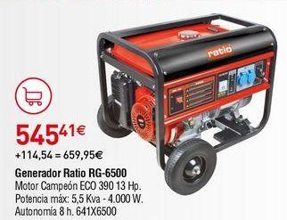 Oferta de Generador Ratio por 545,41€