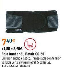 Oferta de Faja lumbar por 7,4€