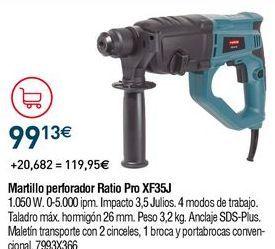 Oferta de Martillo percutor por 99,13€