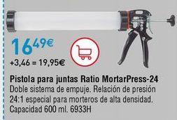 Oferta de Pistola para silicona por 16,49€