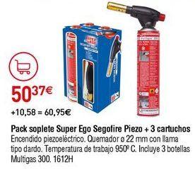 Oferta de Soplete super ego por 50,37€