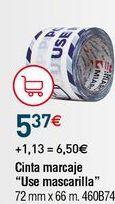 Oferta de Cinta adhesiva por 5,37€